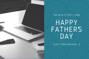 Father's Day gift card designed by Tap Into IT