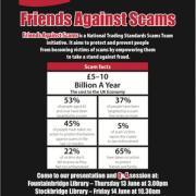 Scammers Presentation Poster
